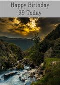 Happy Birthday - 99 Today - Option 1
